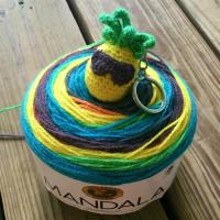 Chillin' Pineapple Bobble - Free Crochet Pattern