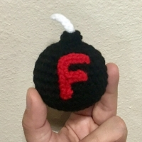 The F Bomb - Free Crochet Pattern