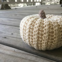 Sweater Style Pumpkin - Free Crochet Pattern