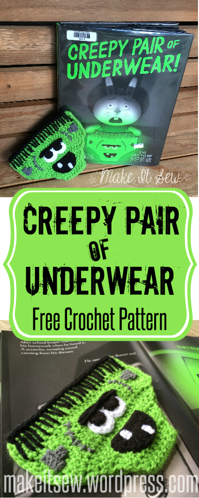 Creepy Pair of Underwear Free Crochet Pattern Make It Sew Crochet Blog
