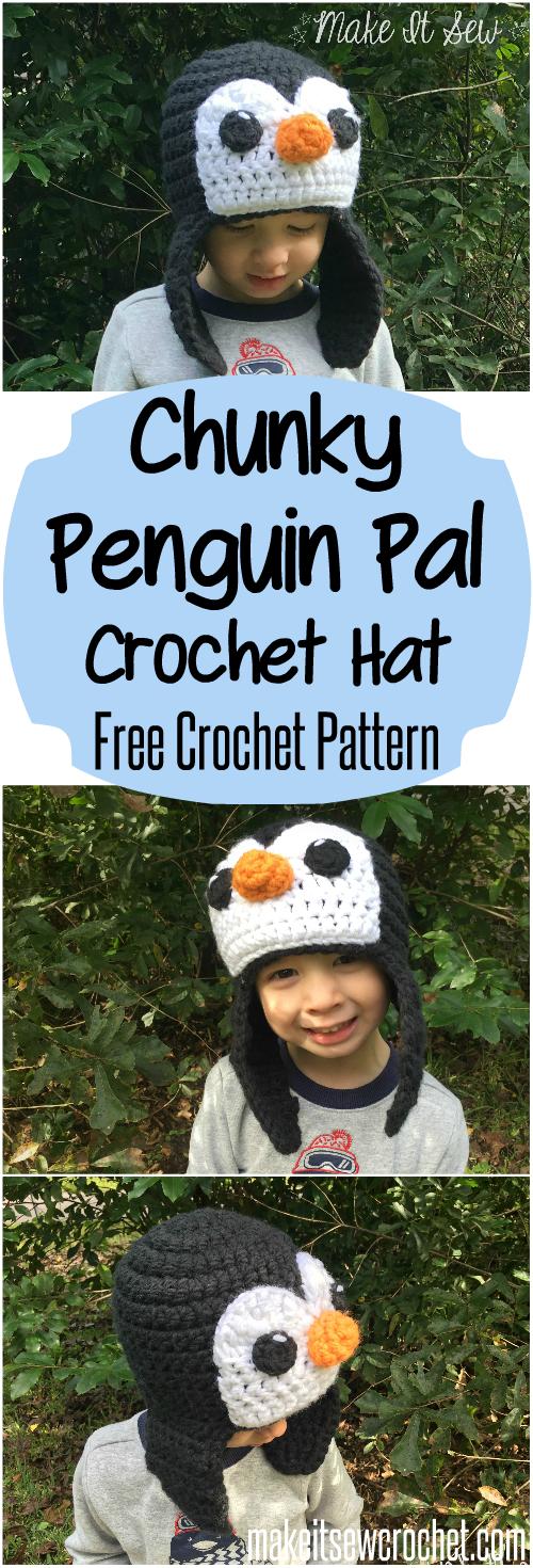 Chunky Penguin Pal Free Crochet Pattern Make It Sew Crochet Blog