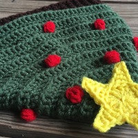 Oh Tannenbaum Christmas Tree Hat - Free Crochet Pattern