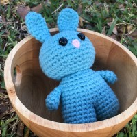 Easter Bunny Buddy - Free Crochet Pattern