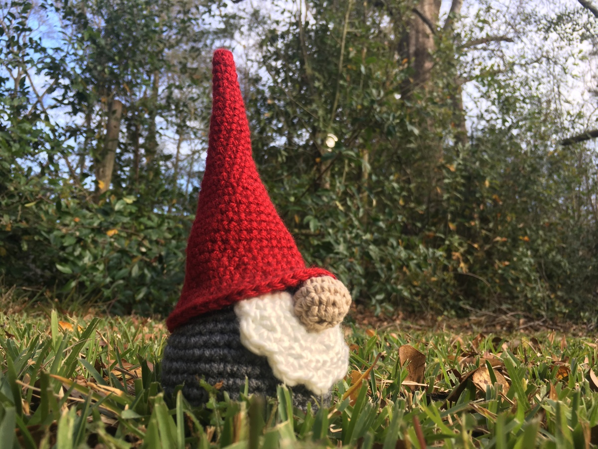 Scandinavian Gnome - Free Crochet Pattern