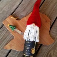 Scandinavian Gnome Bottle Topper