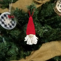 Scandinavian Gnome Ornament - Free Crochet Pattern