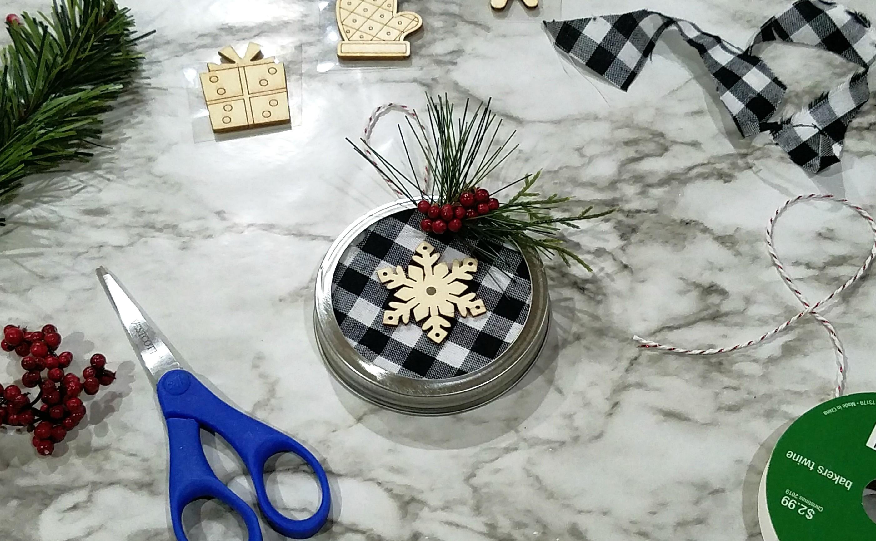 Easy Farmhouse Christmas Ornaments Make It Sew Crochet