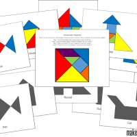 Homemade Tangrams for Beginners